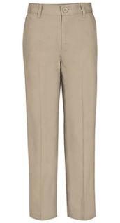 Real School Boys Husky Flat Front Pant-