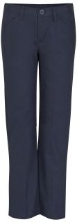 Girls Low Rise Adj. Waist Pant-REAL SCHOOL Uniforms