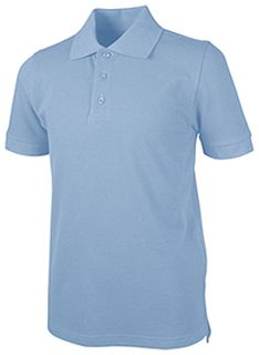 Short Sleeve Pique Polo-