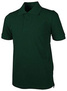 Short Sleeve Pique Polo-