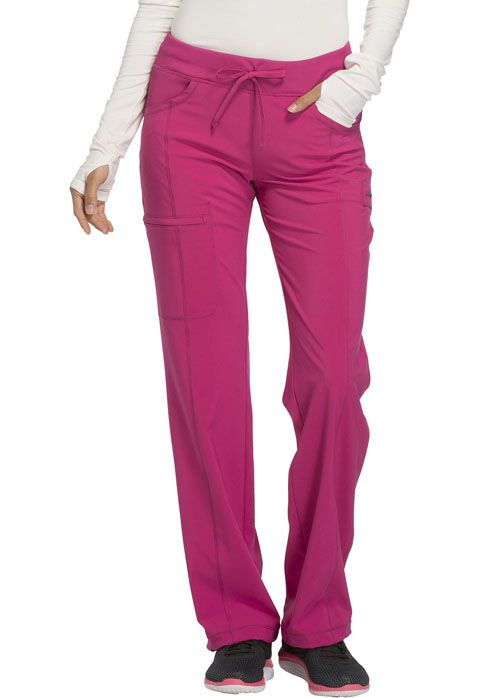 1123A Low Rise Straight Leg Drawstring Pant-Cherokee Medical