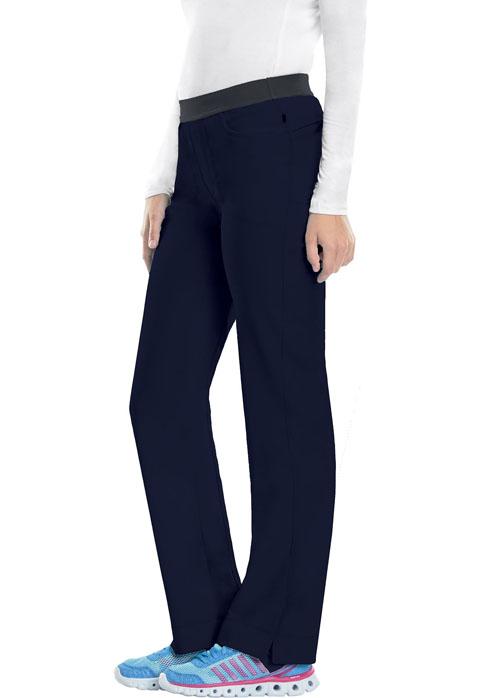 Cherokee Infinity 1124 Elastic Waist Low Rise Slim Pant