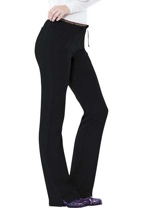 "HeartSoul ""Heart Breaker"" Women's Low Rise Drawstring Pant-Heartsoul"