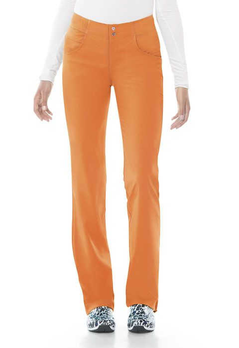 WSL - Low Rise Elastic Waist Pant in Cremesicle-