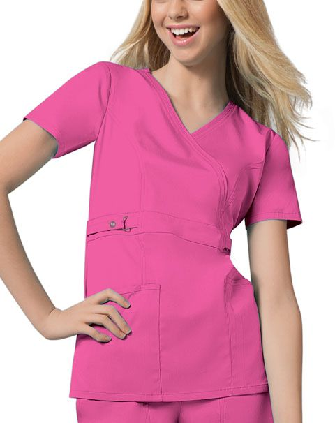 cd20cd46ce1 Buy Empire Waist Mock Wrap Top - Cherokee Medical Online at Best ...