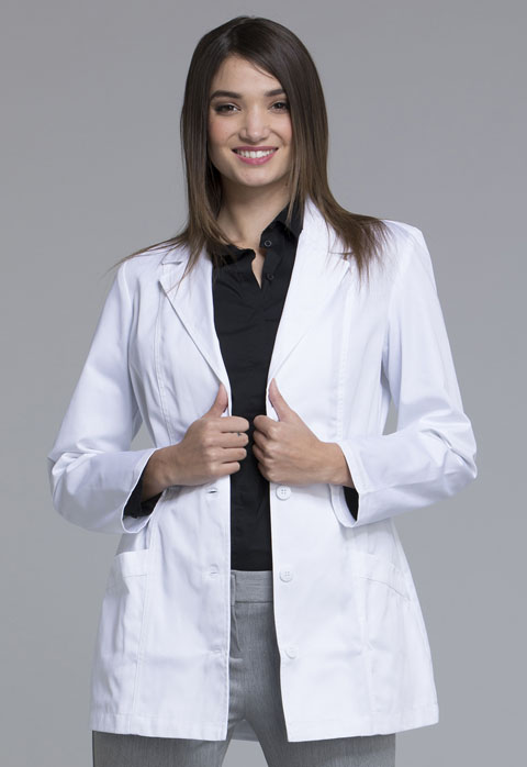 Fashion White Lab Coat