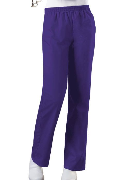 Cherokee Workwear Originals Women's Elastic Waist Pull-On Scrub Pants-Cherokee Workwear