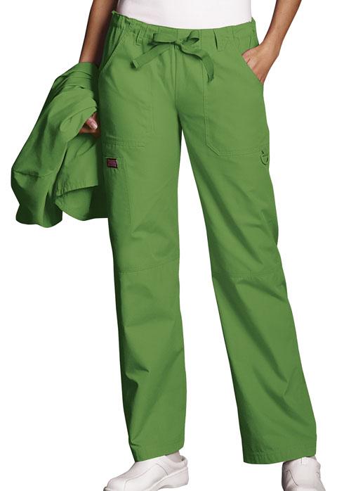 4020 Low Rise Drawstring Cargo Pant-Cherokee Workwear