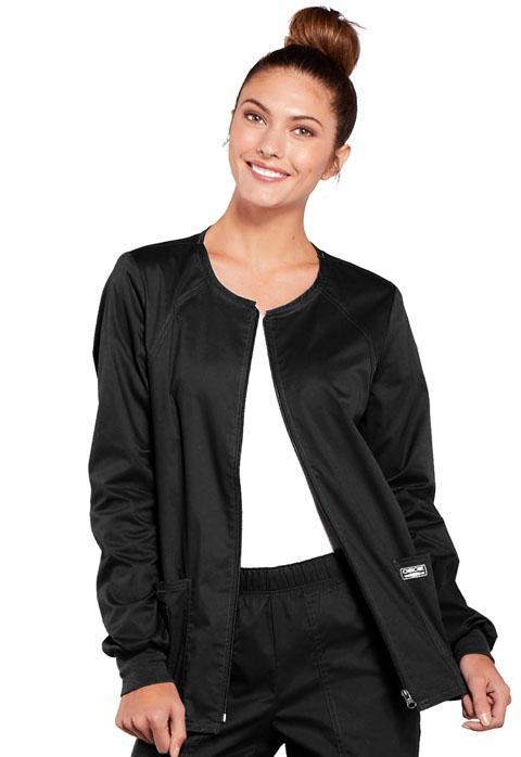 4315 Zip Front Jacket-Cherokee Workwear
