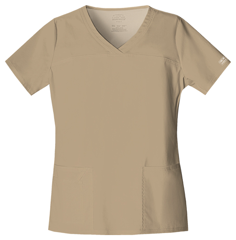 e66c5ae2810 Buy 4727 V-Neck Top - Cherokee Workwear Online at Best price - IN