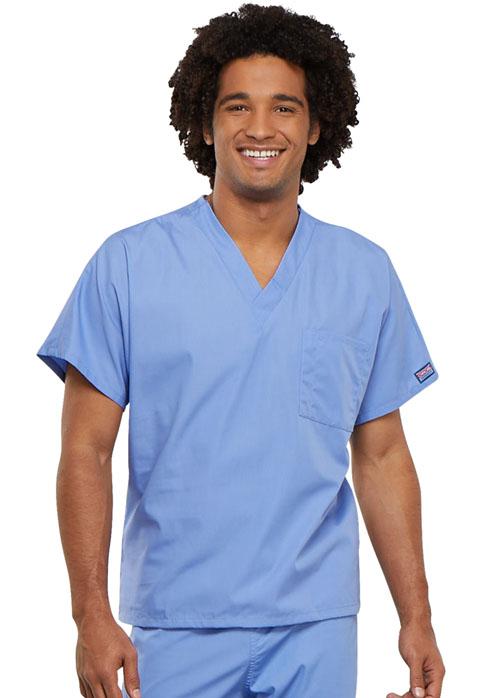 Unisex V-Neck Tunic-Cherokee Workwear