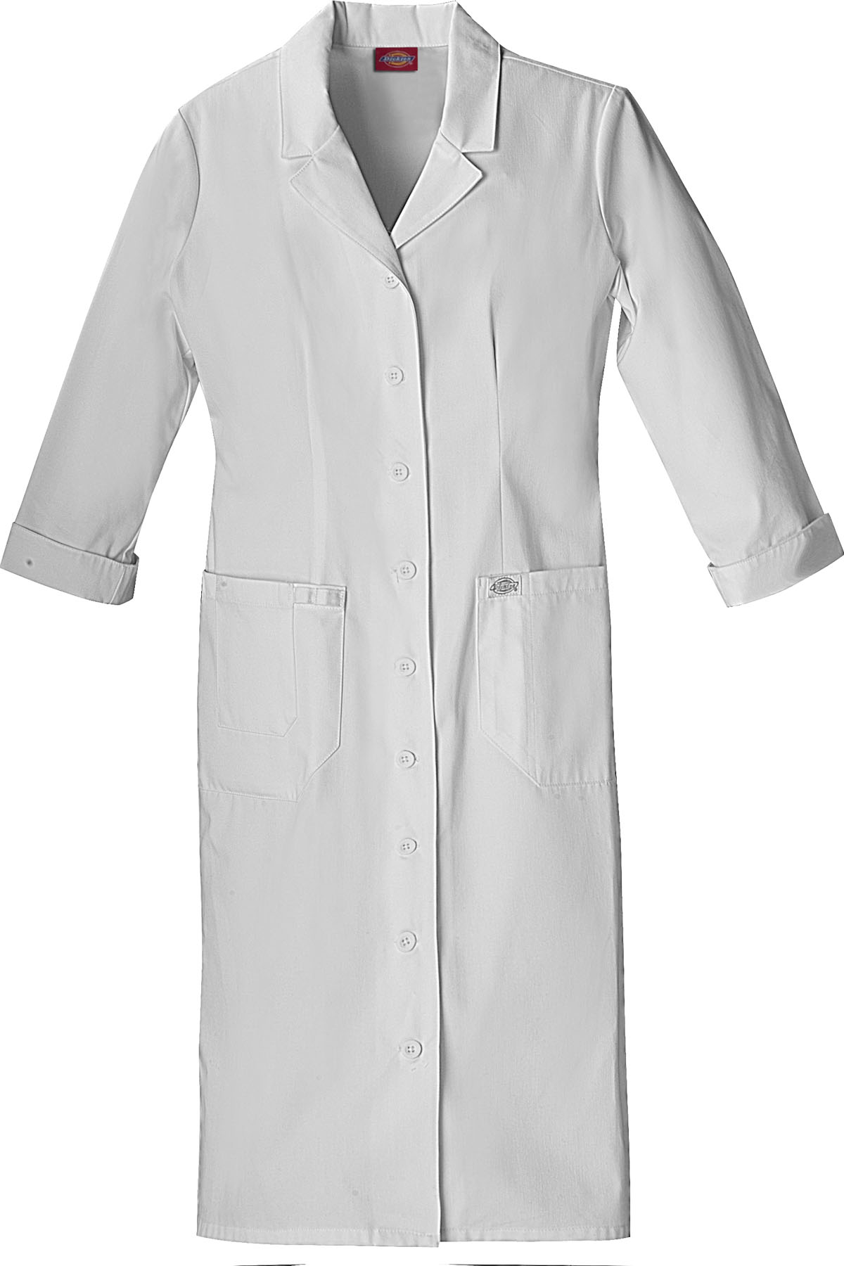 1ab87559bec5e Dickies EDS Signature Whites Button Front Dress