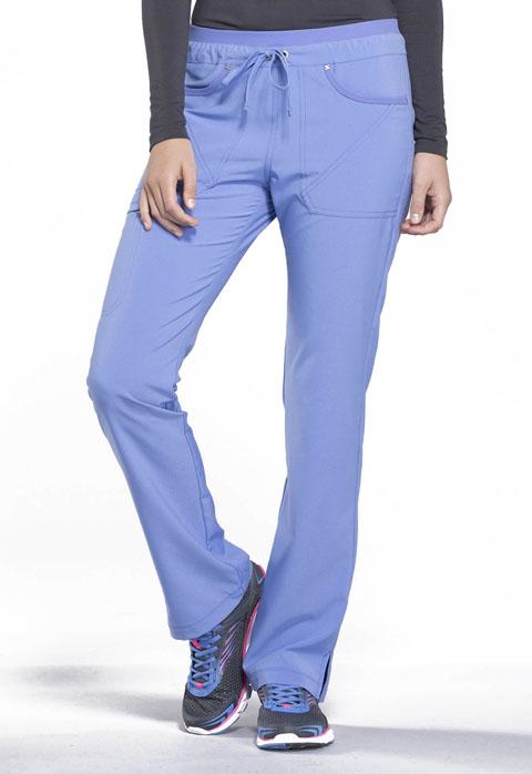 IFlex Mid Rise Tapered Leg Drawstring Pants - CK010
