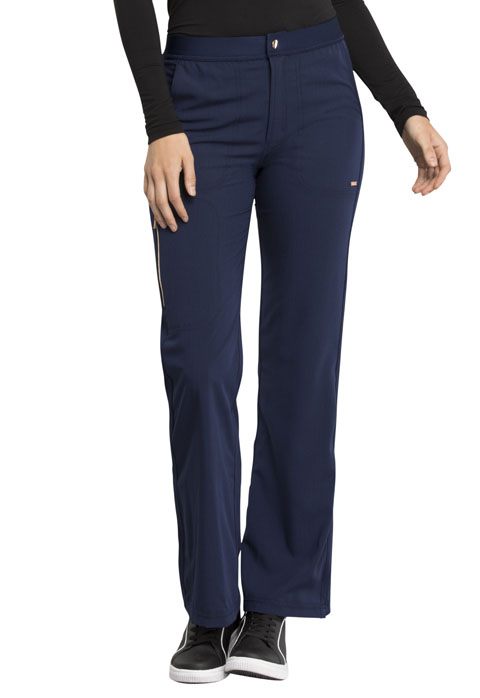 Statement Snap Flare Pant-