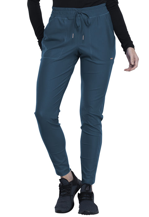 FORM - Mid-Rise Tapered Leg Drawstring Pant - Jogger Style DEAL-