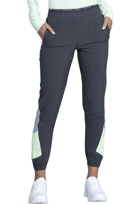 Infinity NEW Mid Rise Jogger - Antimicrobial-Cherokee Medical