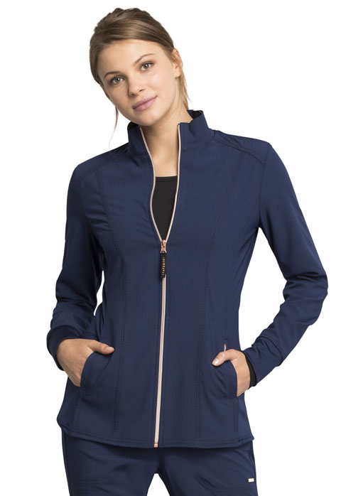 Statement Zip Front Jacket-Cherokee Medical
