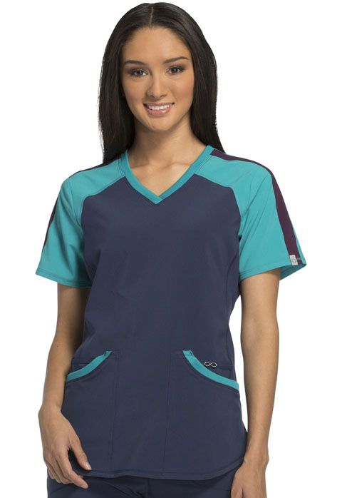 DEAL - Infinity Color-Block Top - Antimicrobial-