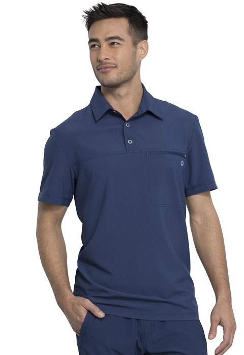 Infinity Men's Polo - Antimicrobial -Cherokee Medical