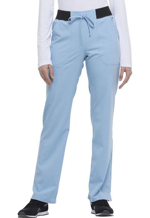 Xtreme Ladies Mid Rise Straight Leg Drawstring Pant - Dickies DK112-Dickies Medical