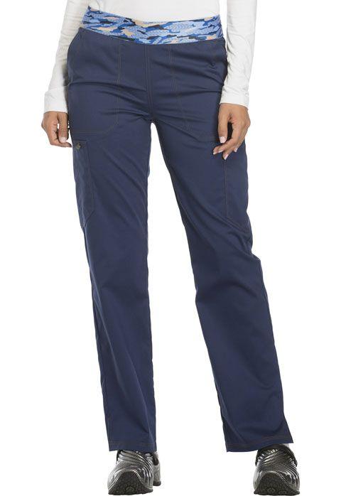 Essence Ladies Mid Rise Pull-on Pant - Dickies DK140-Dickies Medical