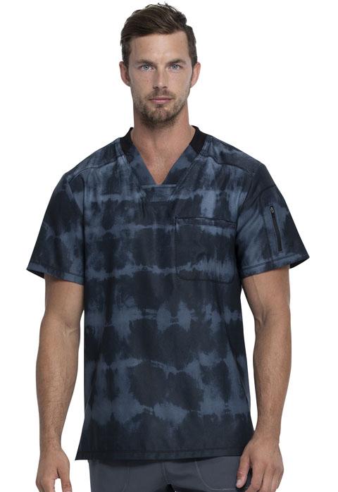 Dynamix NEW Tie Dye Men's V-Neck Top-Dickies