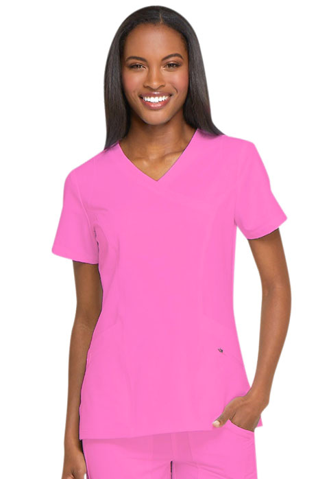 c56831831c1 Buy Dickies Mock Wrap Scrub Top - Dickies Medical Online at Best ...