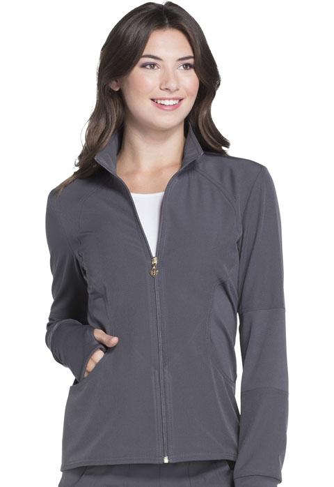 HS315 Zip Front Warm-up Jacket-Heartsoul