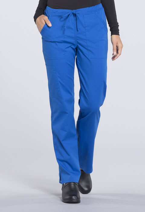 Turquoise Blue Cherokee Scrubs Workwear Professionals Drawstring Pant WW160 TRQ