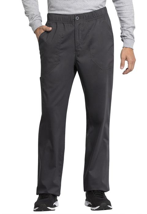 Tech Men's Mid Rise Straight Leg Zip Fly Pant - WW250AB-Cherokee Workwear