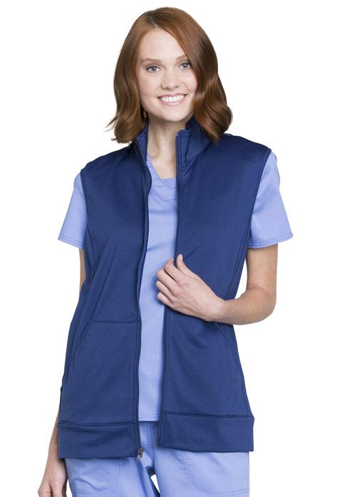 Z COMING SOON Revolution Unisex Zip Front Vest - WW520-Cherokee Workwear