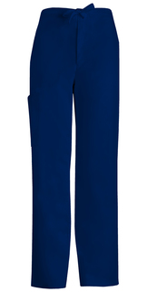 Luxe Men's Fly Front Drawstring Scrub Pants - 1022-Cherokee Medical