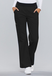 My Flexibles Comfort Fit Mid-Rise Knit Waist Pull-On Pant - 1031-
