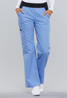 My Flexibles Comfort Fit Mid-Rise Knit Waist Pull-On Pant - 1031-Cherokee Medical