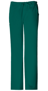 Luxe Low Rise Straight Leg Drawstring Pant - 1066-Cherokee Medical