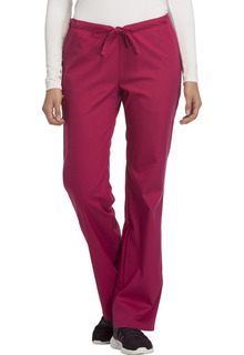 Luxe Low Rise Straight Leg Drawstring Pant - 1066