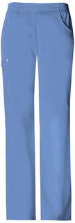 Mid-Rise Pull-On Cargo Pant-Cherokee Medical