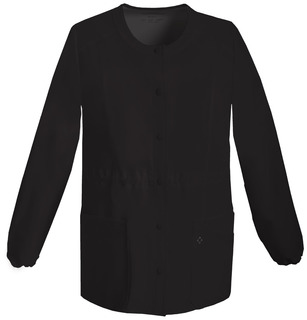 Snap Front Warm-Up Jacket-Cherokee Medical