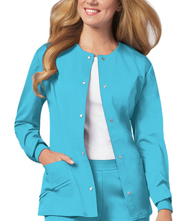 Snap Front Jacket-Cherokee Medical