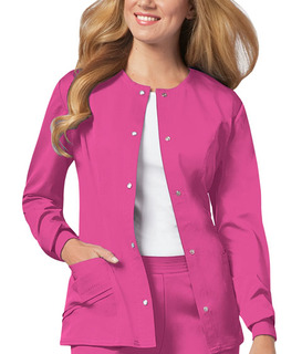 1330 Snap Front Warm-Up Jacket-Cherokee Medical