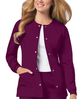 Luxe Ladies Snap Front Warm-Up Jacket - 1330