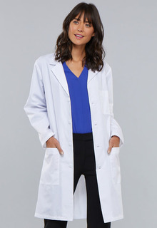 "Cherokee Professional Whites 40"" Unisex Lab Coat-Cherokee Medical"