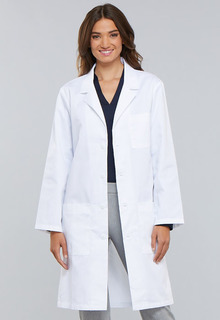 "Cherokee Certainy Antimicrobial 40"" Unisex Lab Coat-Cherokee Medical"