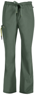 Cherokee 16001AB Men's Drawstring Cargo Pant-Code Happy