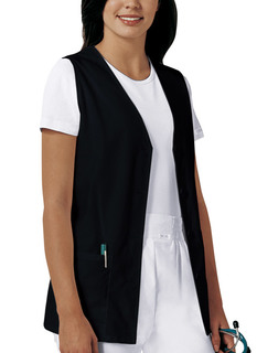 My Button Front Vest-Cherokee Medical