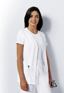Cherokee Button Front Scrub Vest-Cherokee Medical