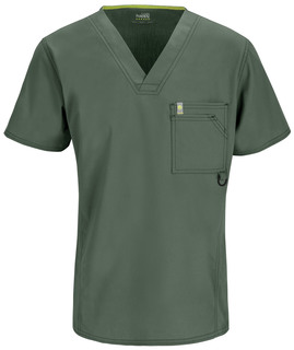 16600AB Mens V-Neck Top-