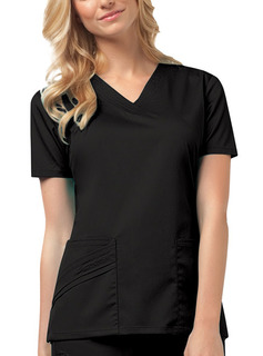 Women's Cherokee Luxe V-Neck Scrub Top