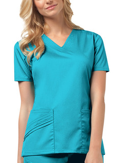 1845 V-Neck Top-Cherokee Medical