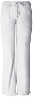 """""""Charmed"""" Low-Rise Drawstring Cargo Pant"""